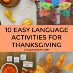 10 easy Chinese language activities for Thanksgiving