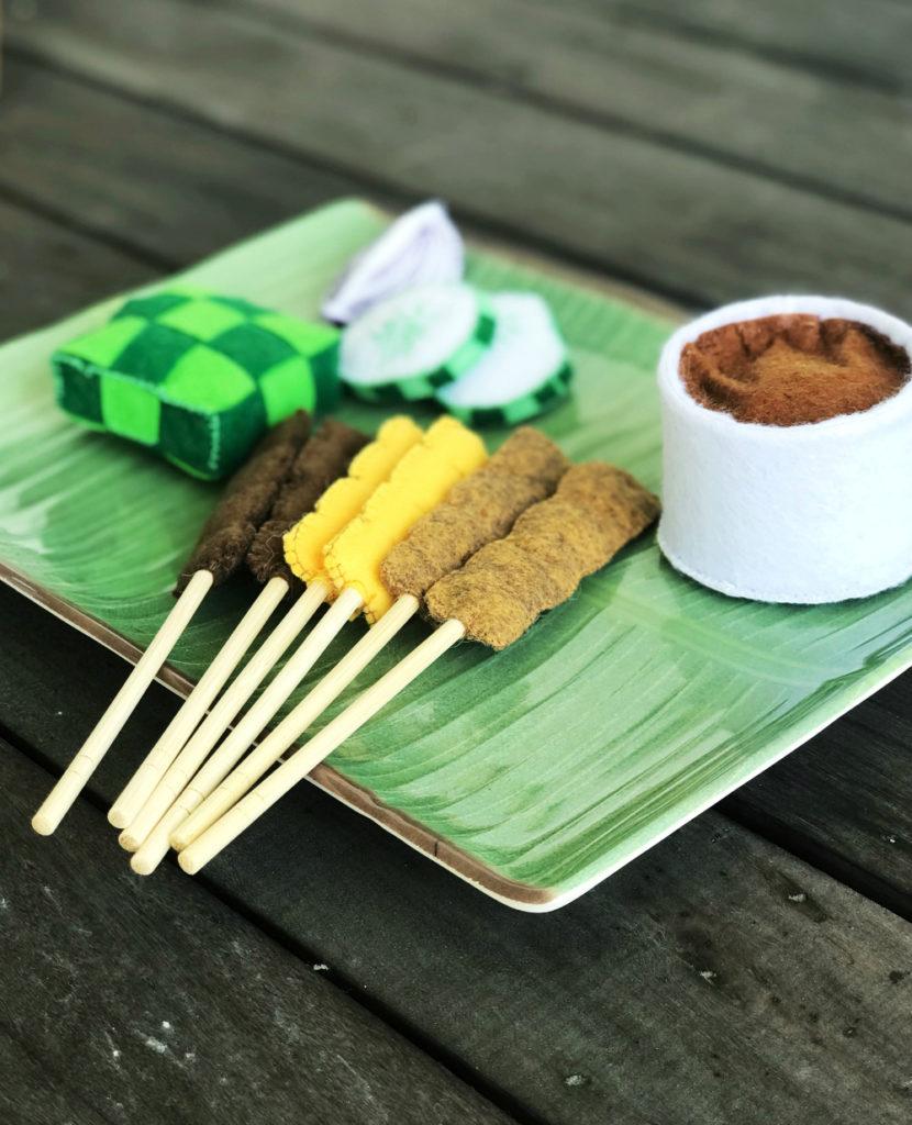 Satay play food set from Heart Felt Makan