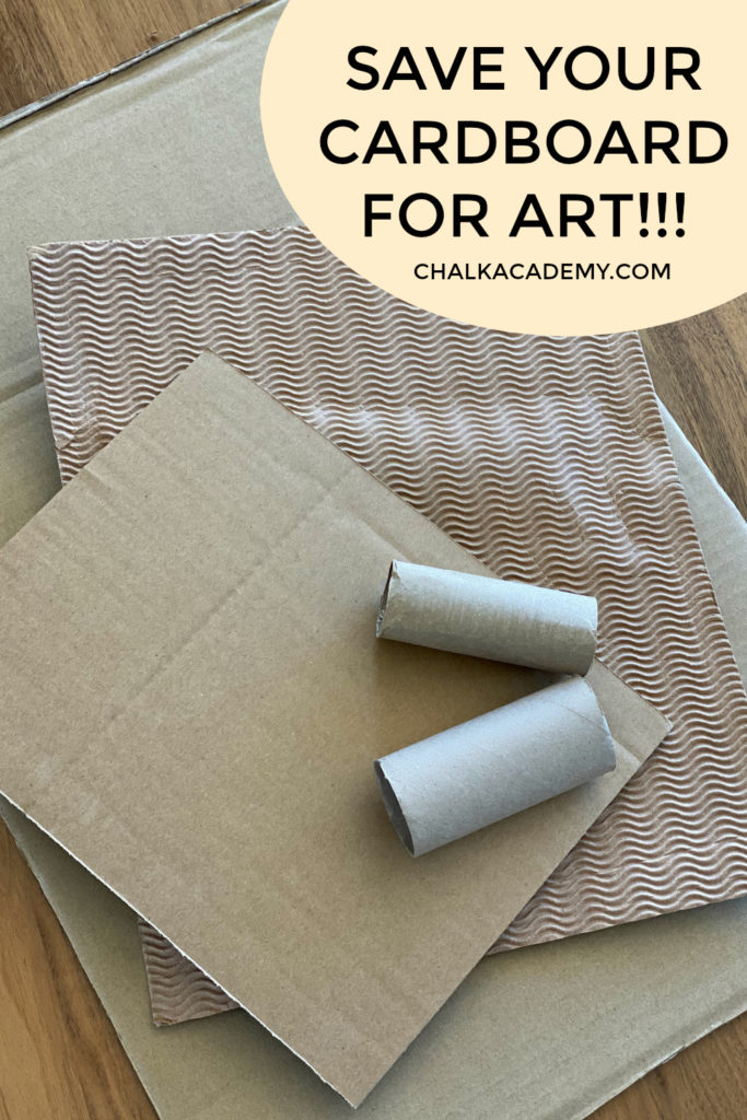 Best free school and art supplies: cardboard and toilet paper rolls!