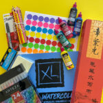 School supplies for Chinese and Korean families