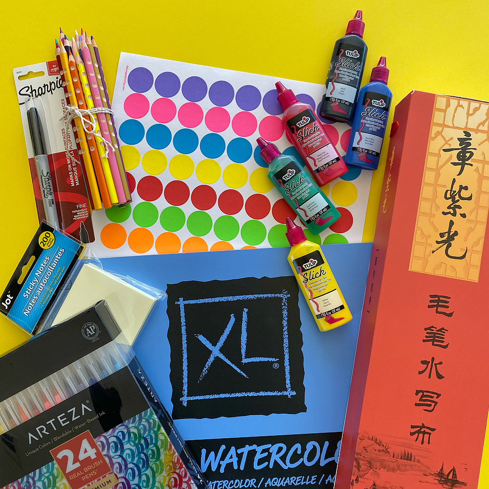 Favorite School and Art Supplies for Bilingual Kids