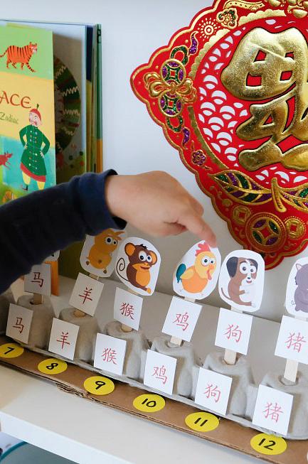 Chinese zodiac animal matching