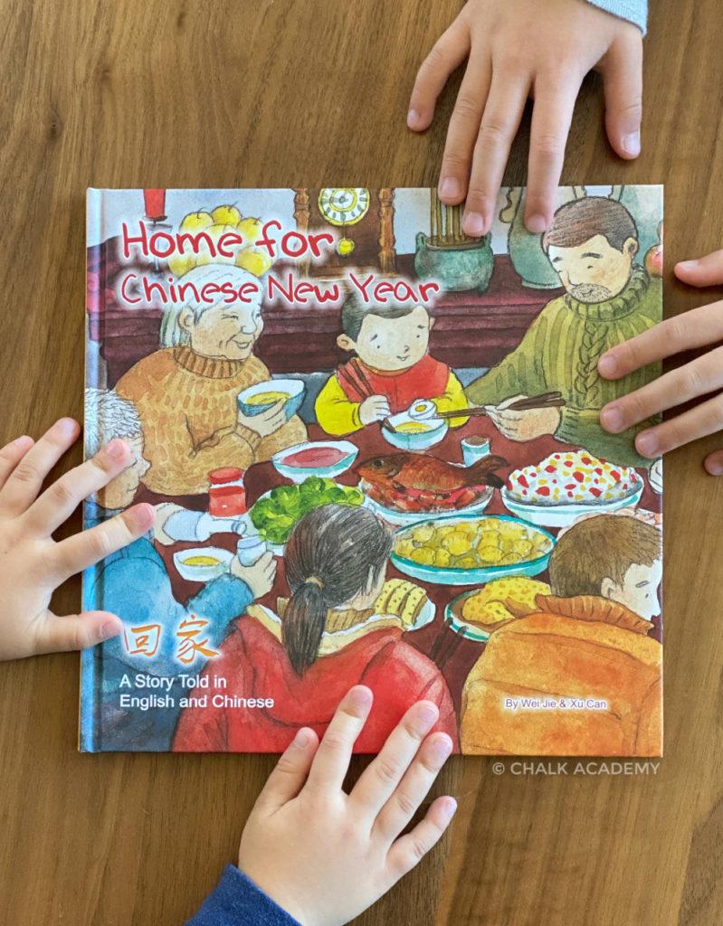 回家 Home for Chinese New Year bilingual book for kids