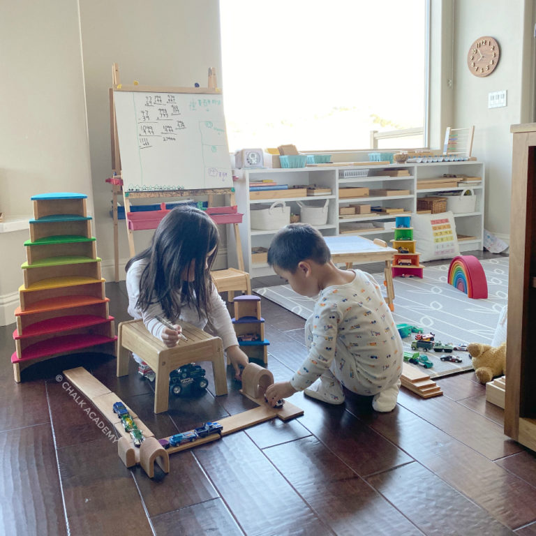 Play Area / Homeschool Room Before and After: 11 Tips for Decluttering