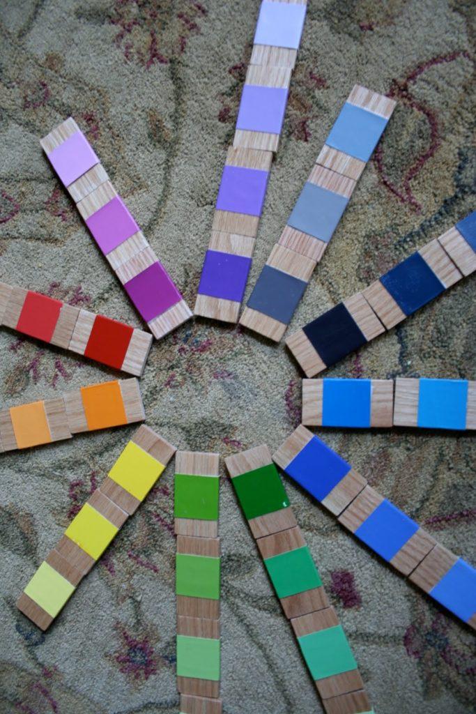 DIY Montessori color box