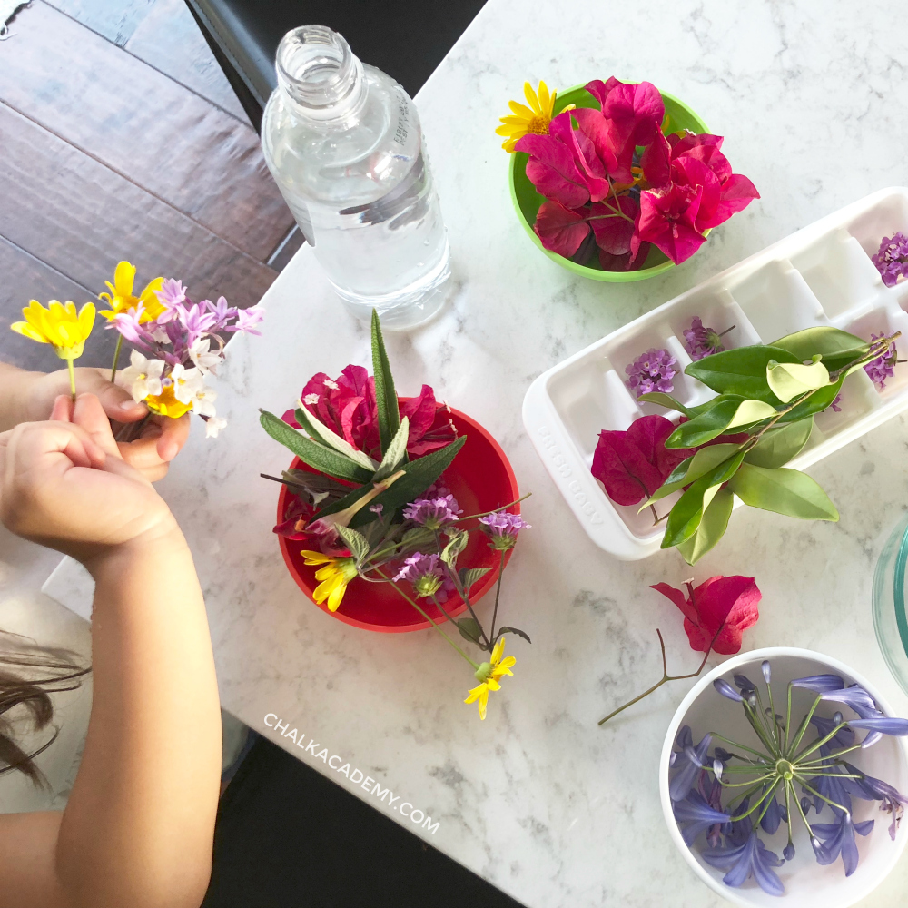 Flower arranging activity