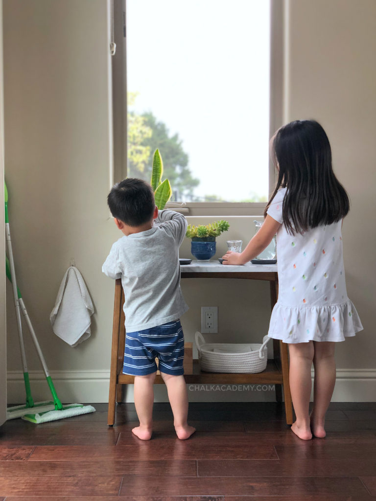 Montessori Inspired Self-Serve Water Station for Kids