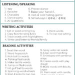 35+ Fun, Low-Prep Language Learning Activities for Kids for Speaking, Reading, Writing