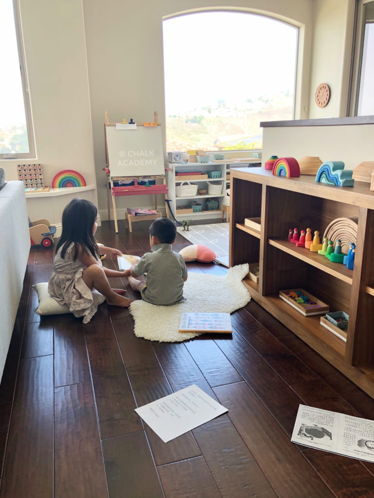 Bilingual homeschooling Chinese and English