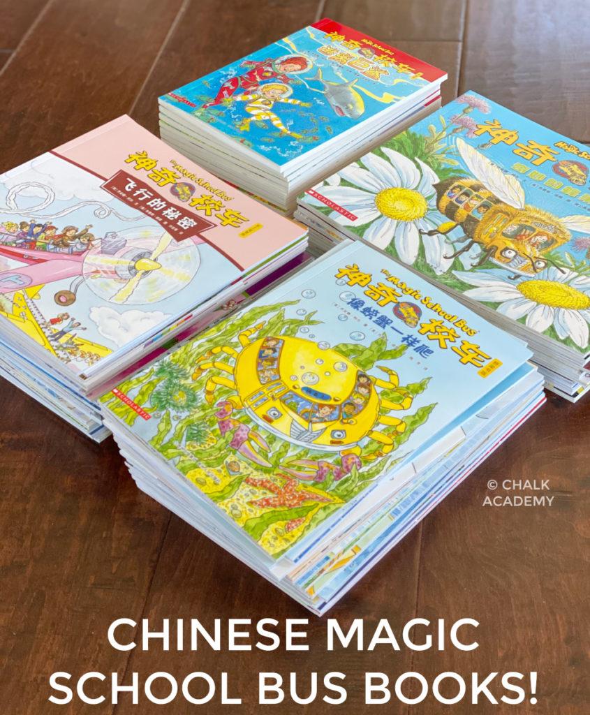 Chinese Magic School Bus Books