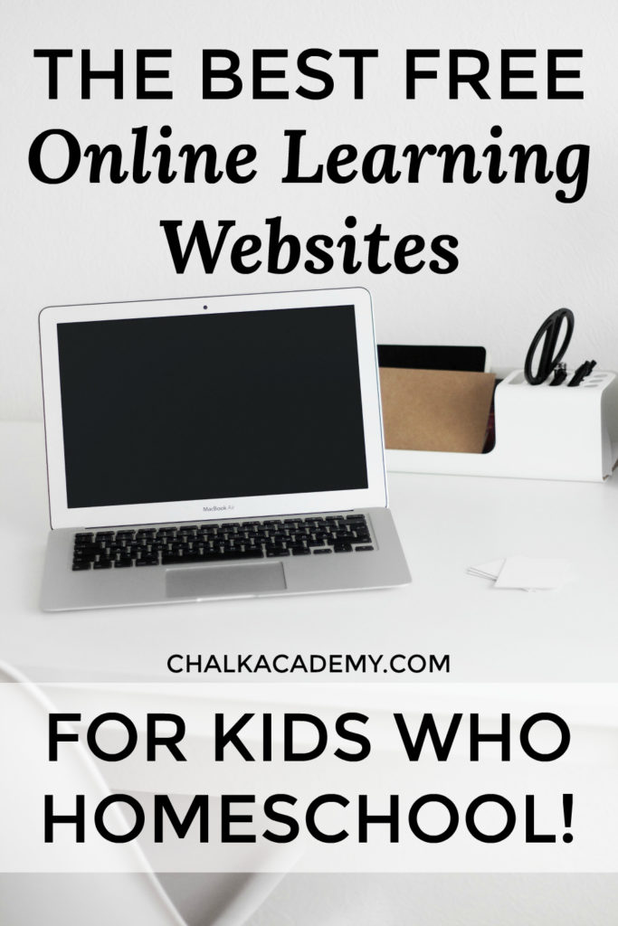 best free online learning websites for kids who homeschool