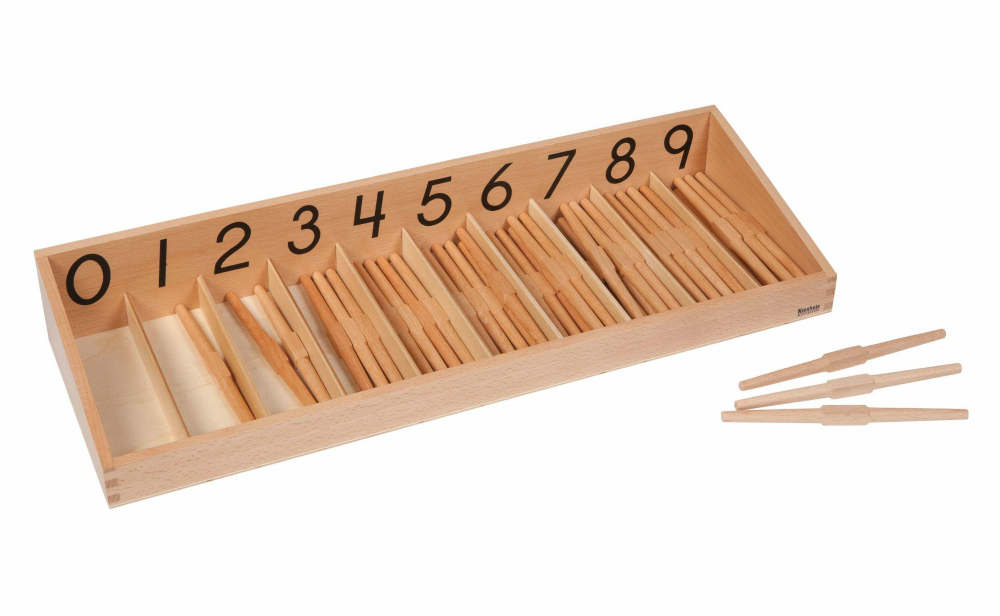 Nienhuis Montessori spindle box