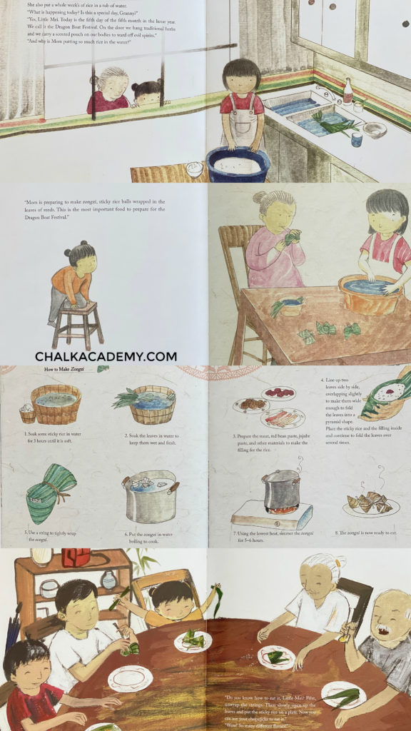 Celebrating the Dragon Boat Festival picture book for kids