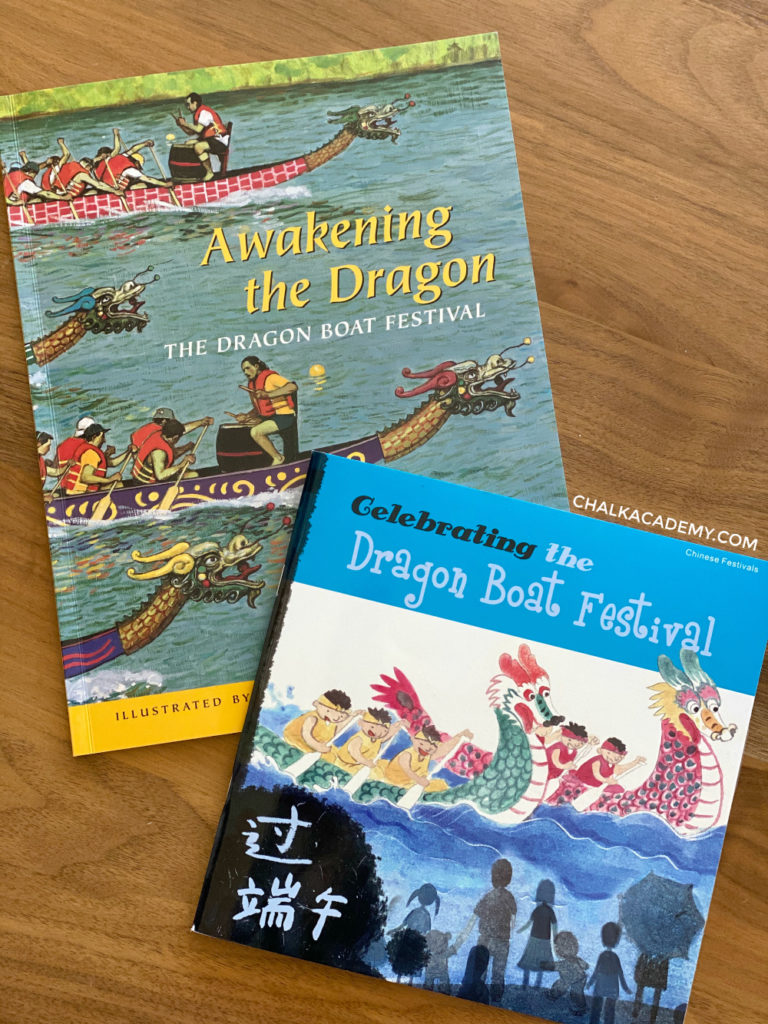 Chinese Dragon Boat Festival Books for kids in English