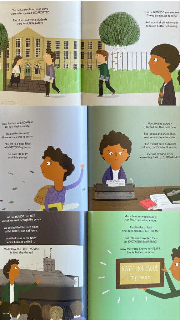 有數學頭腦的女孩:工程師瑞‧蒙特固的故事 / The Girl with a Mind for Math