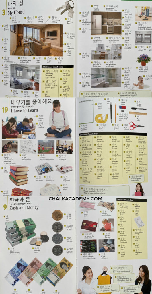 Tuttle Korean picture dictionary for kids and adults