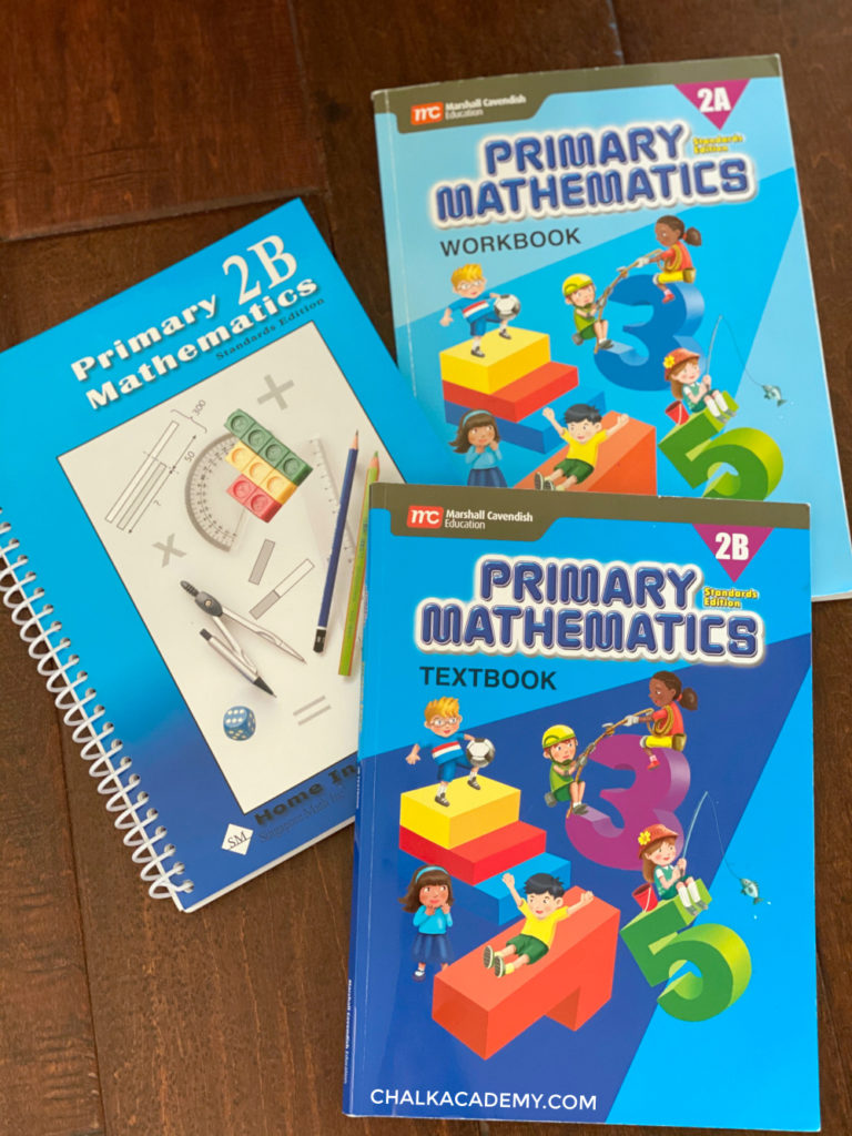 Singapore math workbooks for elementary school - second grade
