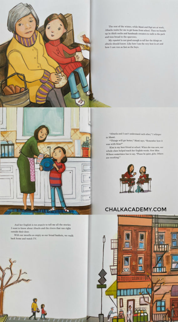 Mango, Abuela, and Me - Children's book about Hispanic Heritage