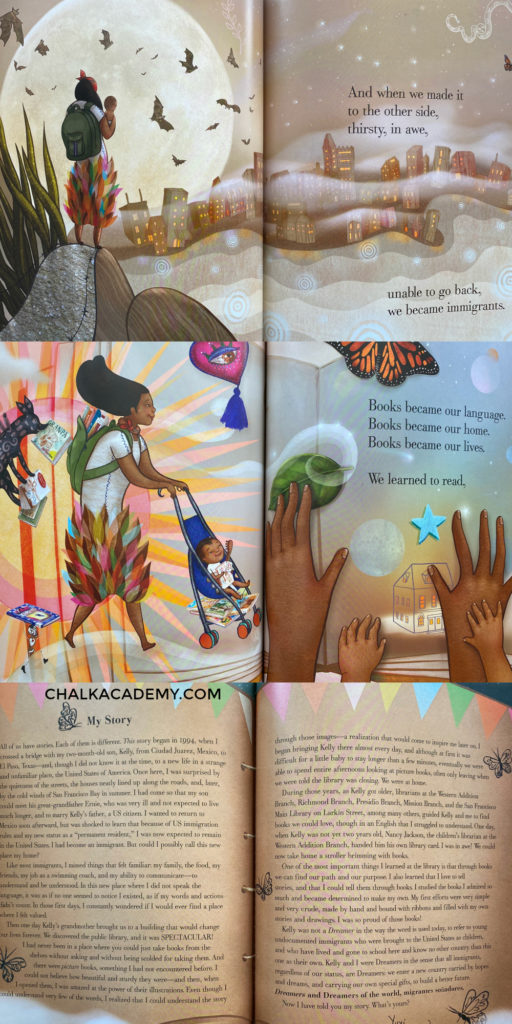 Dreamers - Children's picture book about Hispanic Heritage