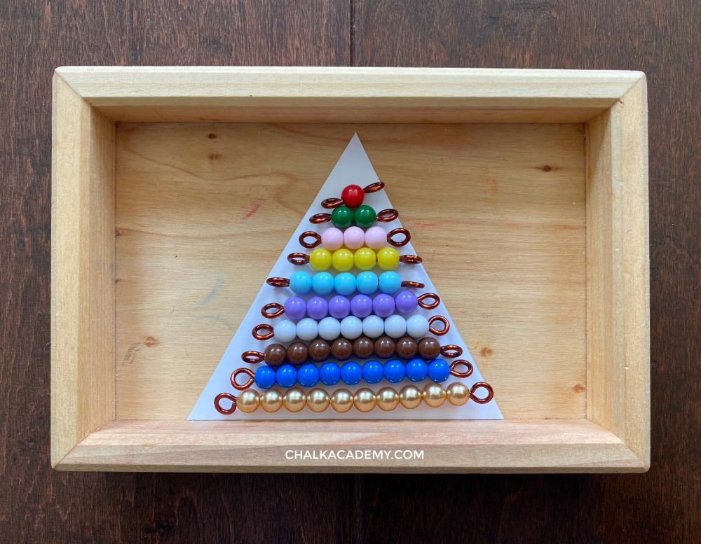 Colored beads stair 彩色串珠阶梯 / 彩色串珠階梯 (Cǎisè chuànzhū jiētī)