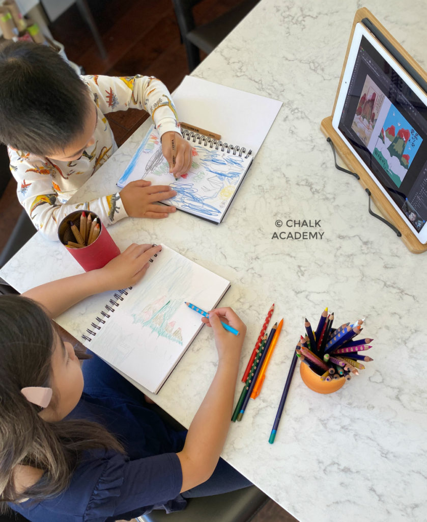 Bilin Academy Chinese art and poetry online class for kids