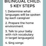 Raising a bilingual child - 5 key steps