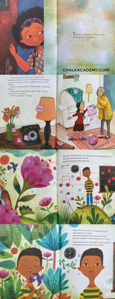The Day You Begin - Children's picture book about diversity and inclusion in school