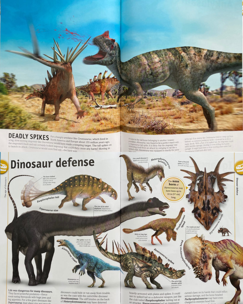 The Dinosaur Book (English)