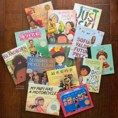 12 Picture Books for Hispanic Heritage Month in Chinese, English, Spanish