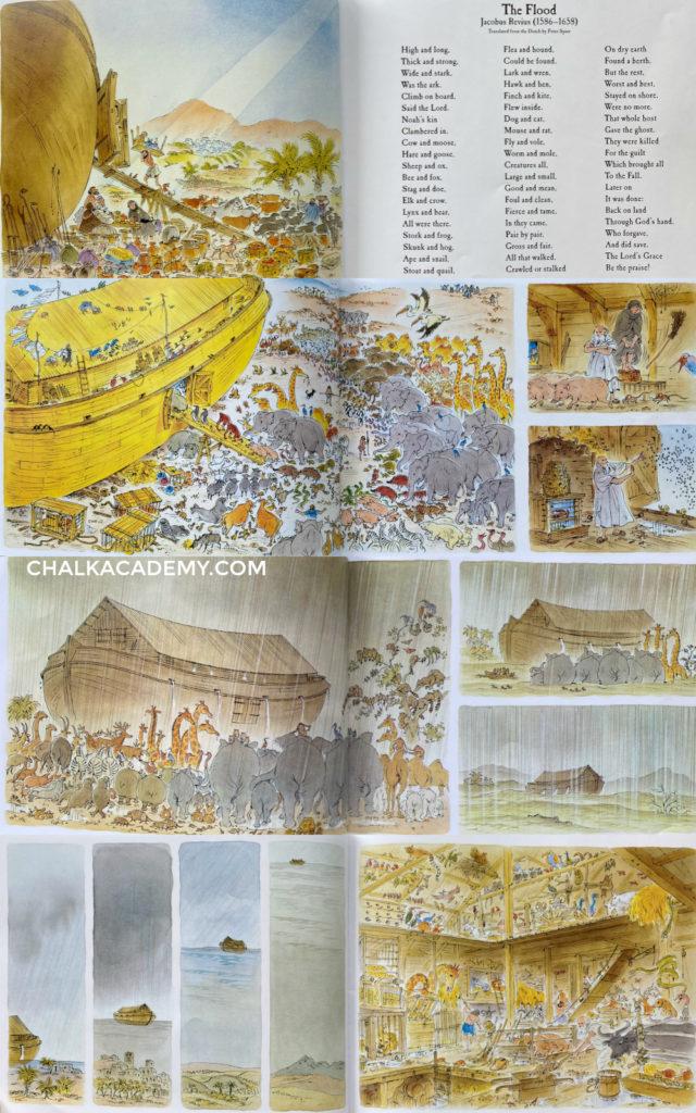 Peter Spier Noah's Ark wordless picture book