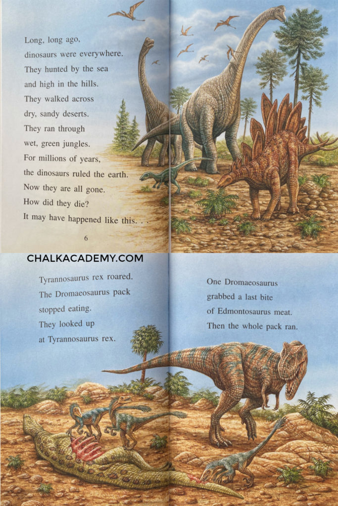 The Day the Dinosaurs Died - I Can Read Series English book for kids