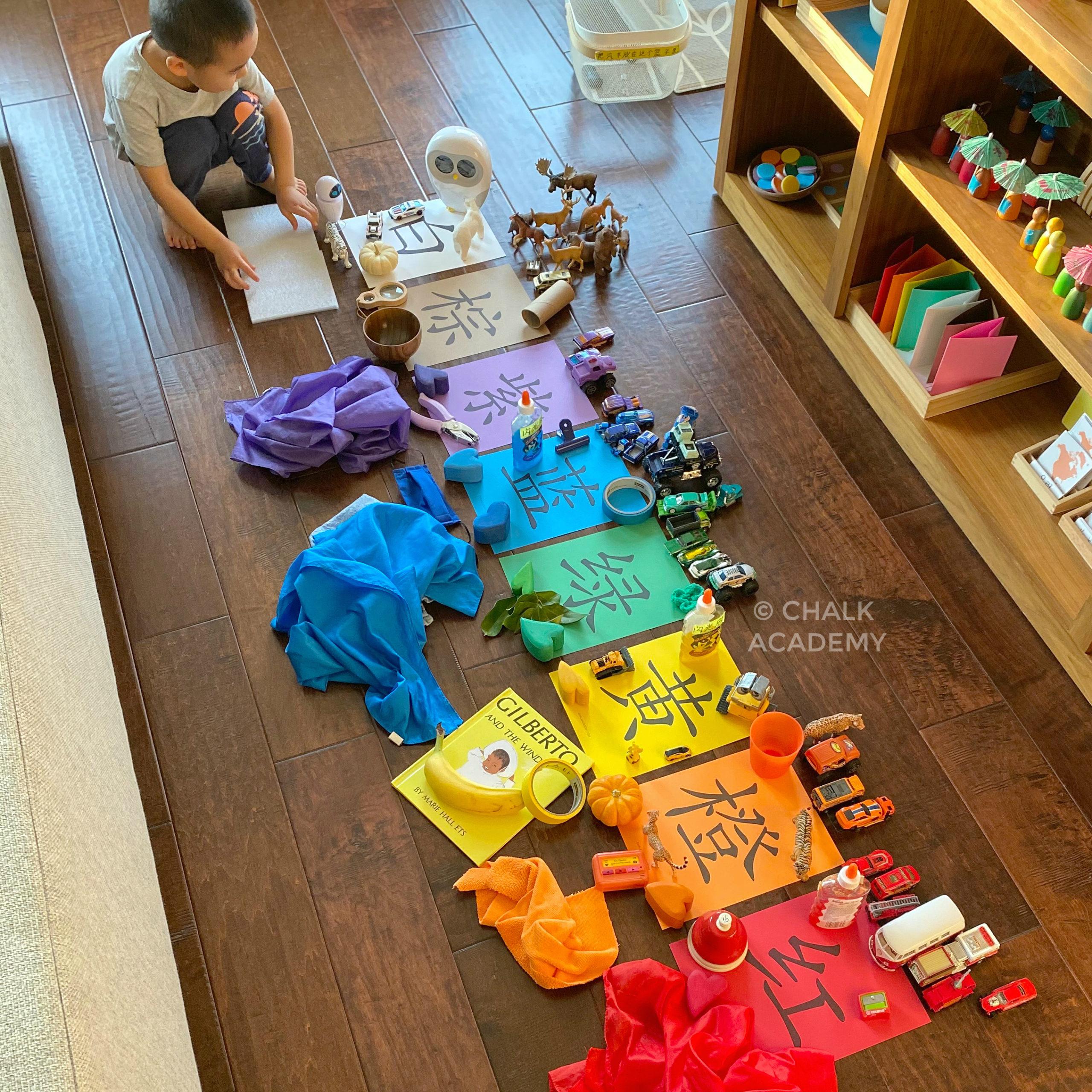 5 Fun Bilingual Color Sorting Activities for Kids (Printable)