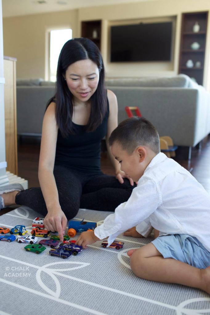 Use body language to enhance communication with bilingual kids