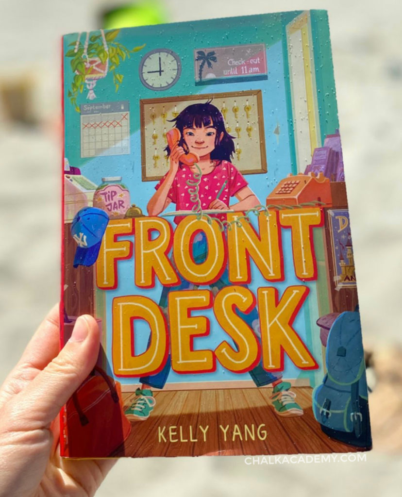 Kelly Yang Front Desk Chapter book with Asian Chinese American protagonist