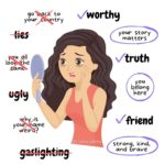 anti-bullying infographic racism gaslighting positive affirmations