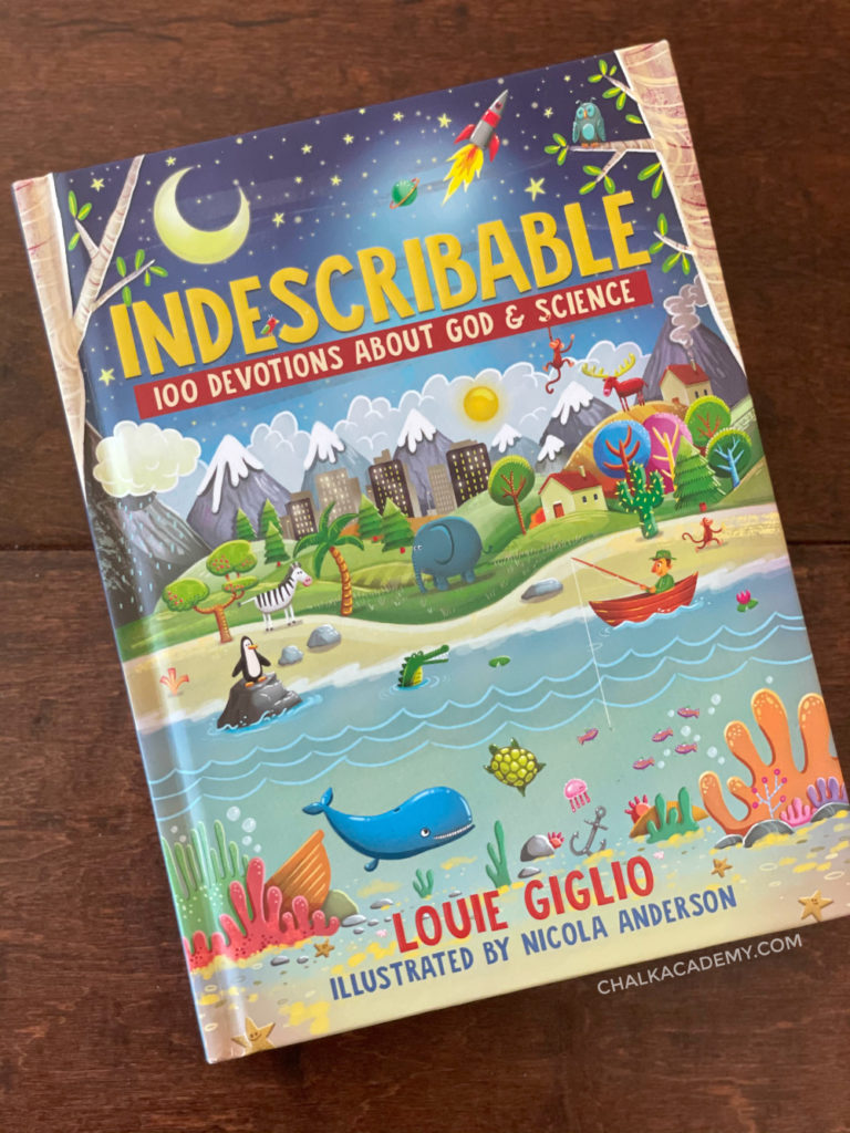 Indescribable: 100 Devotions for Kids About God and Science by Louie Giglio