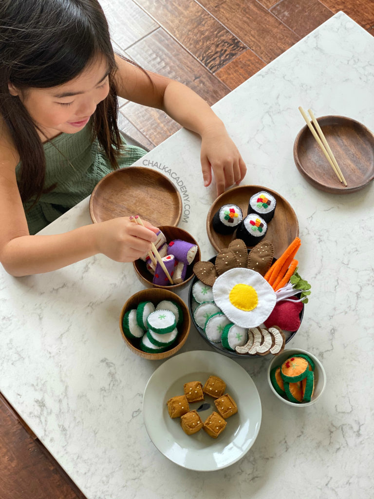 Korean play food for kids