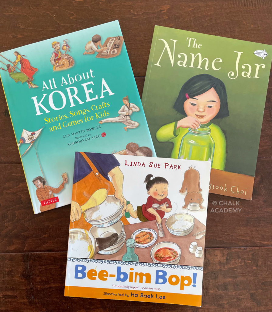 Picture books about Korean culture