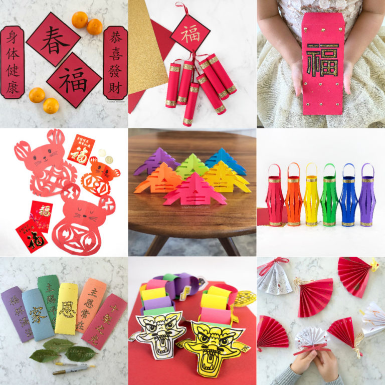 Best 20 Chinese New Year Activities and Crafts for Home and School!