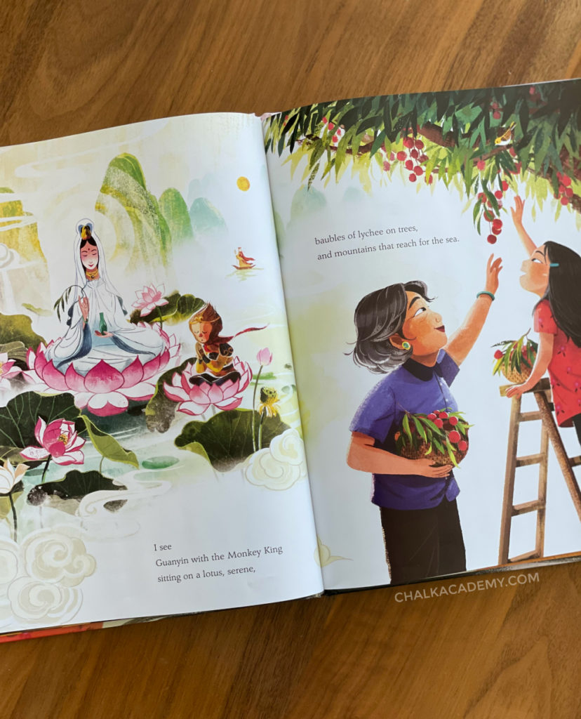 Eyes That Kiss in The Corners book celebrates Asian families, features, and culture