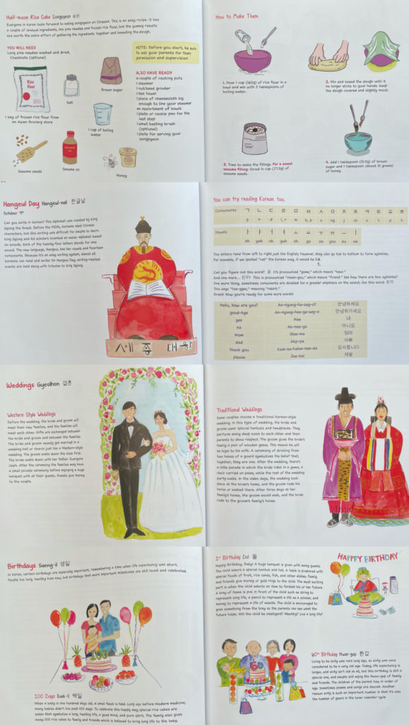 Korean Festivals by Tina Cho, Tuttle Publishing