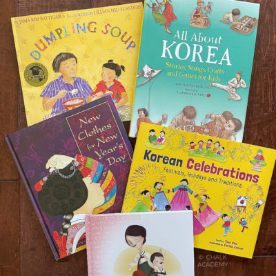 10 Great Korean Lunar New Year Books for Kids in English and Korean!