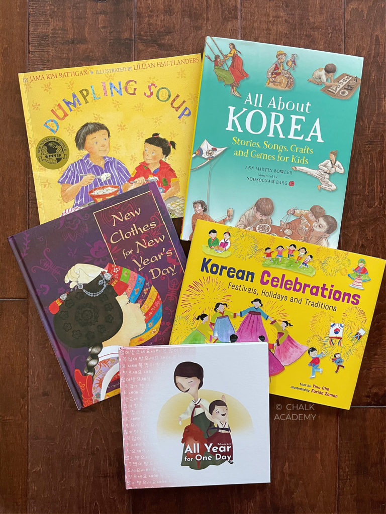 Korean Lunar New Year Books for Kids