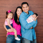 Dr. Michelle Hu, pediatric audiologist and family