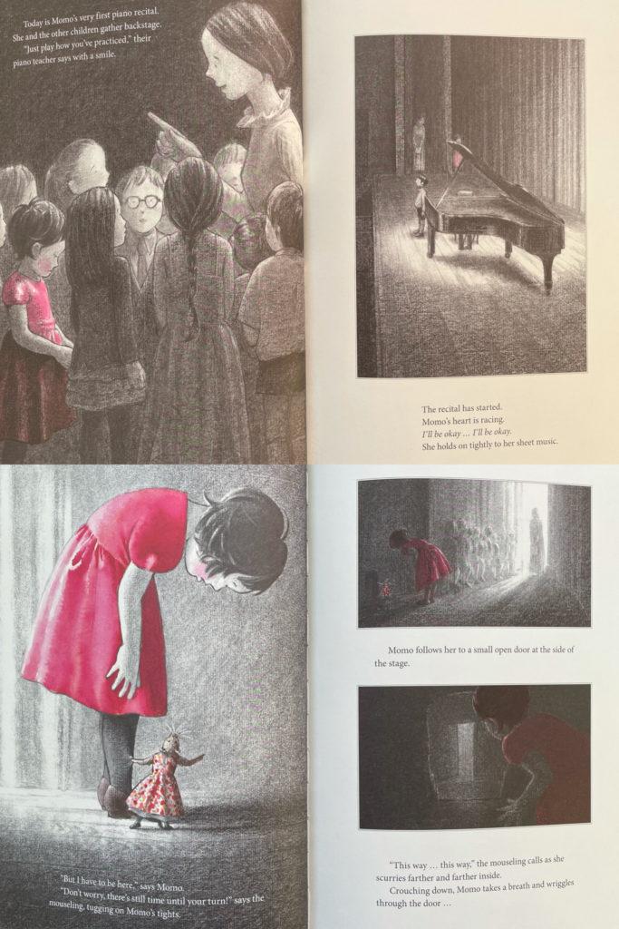 The Piano Recital by Akiko Miyakoshi - children's story with Asian Japanese girl
