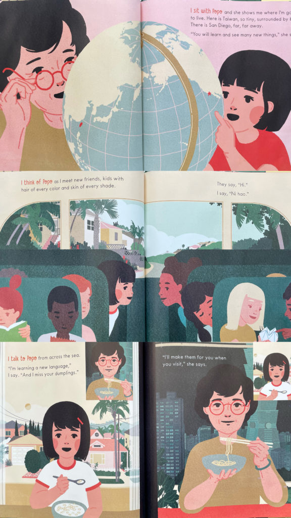 Children's Picture Book I Dream of Popo by Livia Blackburne about Taiwanese Americans