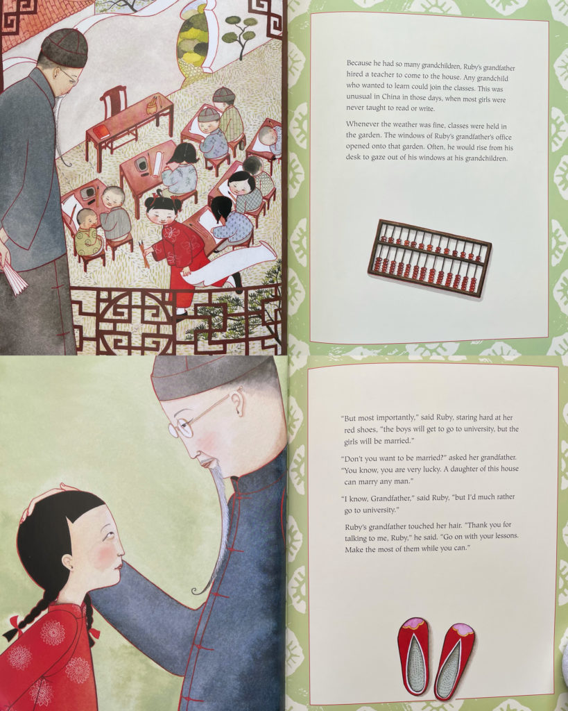 Ruby's Wish by Shrin Yim Bridges - picture book for kids about traditional Chinese culture