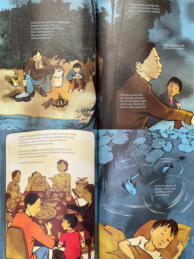A Different Pond by Bao Phi - picture book about Asian Vietnamese family