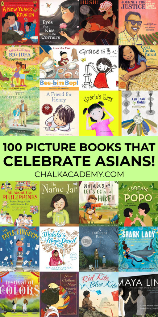 100 Picture books for kids that celebrate Asians!