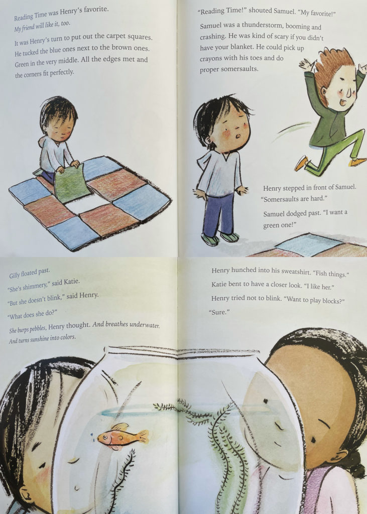 A Friend for Henry by Jenn Bailey - picture book about an Asian boy with Autism spectrum disorder